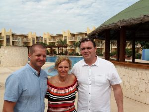 steff with Brett and Lynn